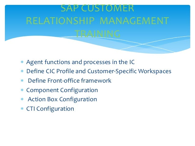 corporate client relationship management course