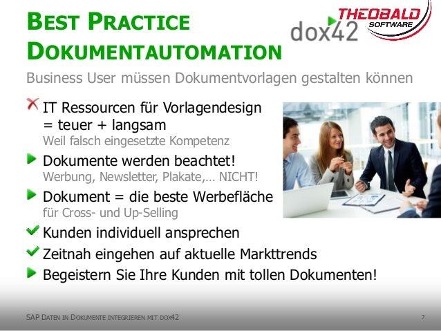 7 IT Ressourcen für Vorlagendesign = teuer + langsam Weil falsch eingesetzte Kompetenz Dokumente werden beachtet! Werbung,...