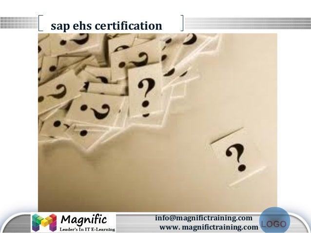 Sap Ehs Online Training