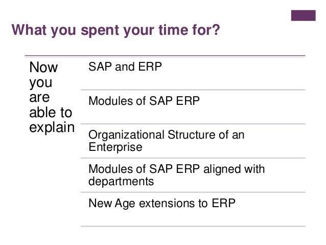 SAP ERP Overview for Laymen Slide 14