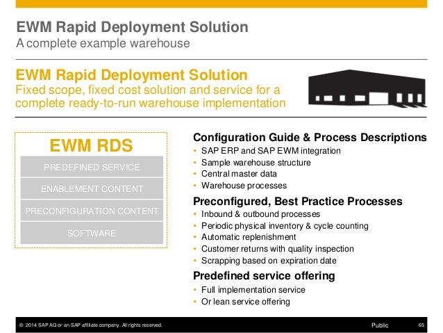 sap ewm detailed presentation rh slideshare net sap best practices ewm configuration guide sap ewm configuration guide pdf