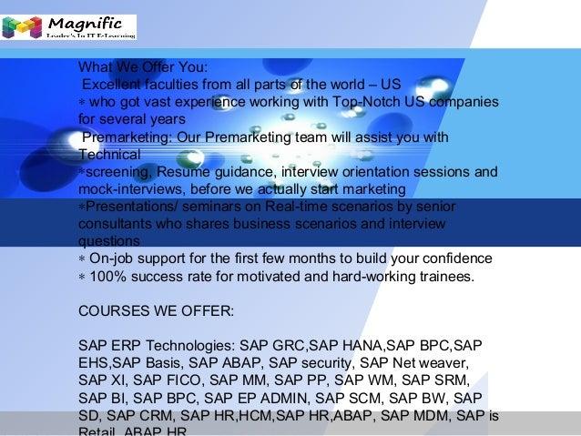 Sap Ewm Online Training Sap Functional Modules In Mumbai
