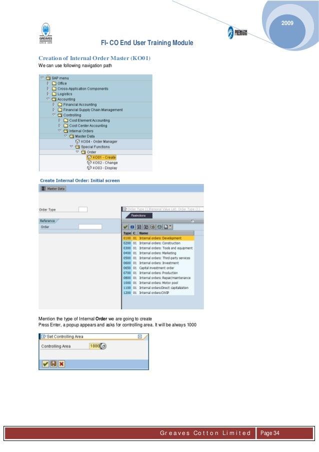sap ps module user manual