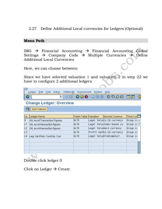 sap fico configuration rh slideshare net