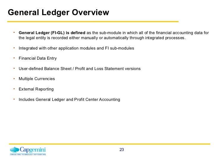online general ledger