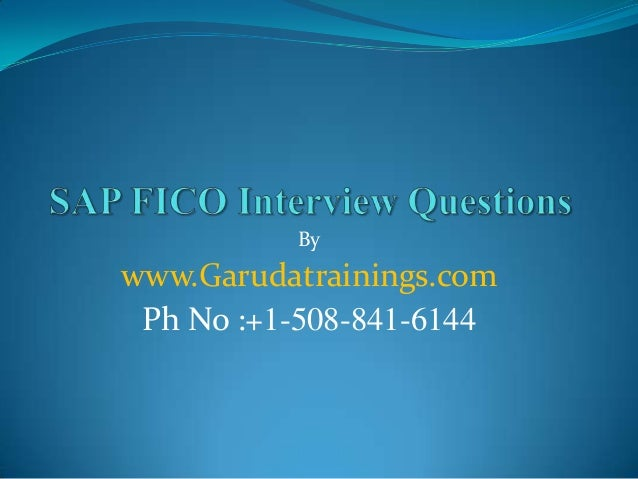 fi co interview questions Latest sap fi (c_tfin52_67, c_tfin52_66) certification questions-answers and online practice test for sap financial accounting with sap erp exam.