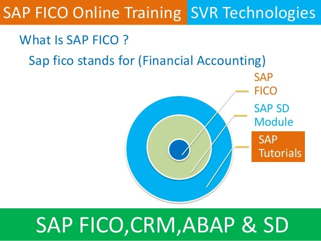 SAP FICO Tutorial - SAP FI & SAP CO Training Tutorials