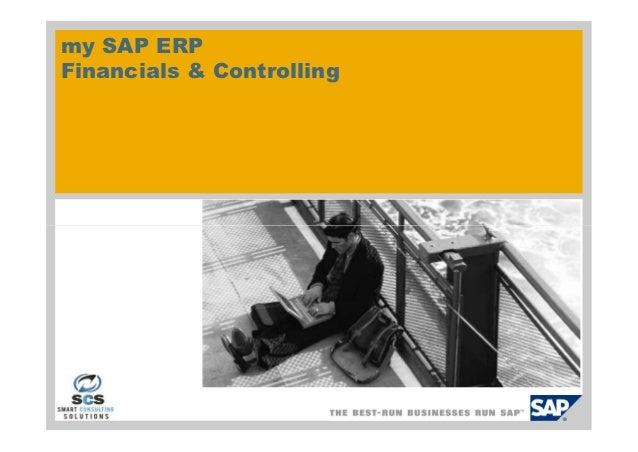 my SAP ERPFinancials & Controlling