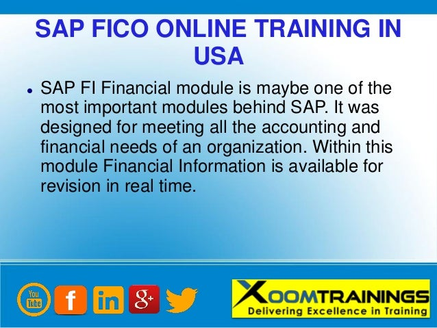 Sap Fico Online Training - Resume Examples | Resume Template