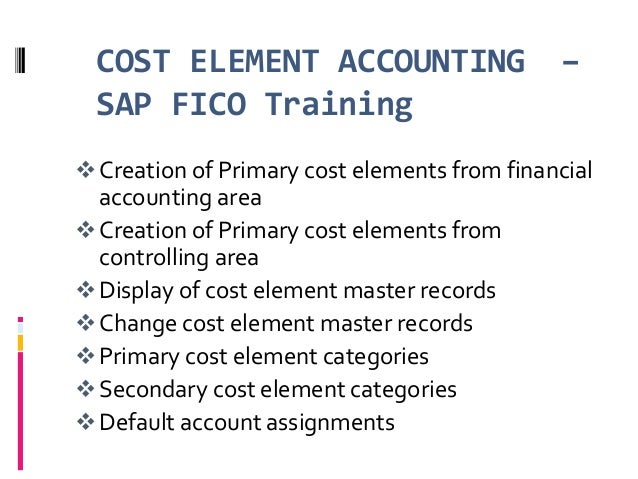 financial accounting element Instructions: below are eight of the ten elements of financial accounting and their definitions from statement of financial accounting concepts (sfac) 6, elements of financial statements you can find more on these by looking at sfac 6 at fasborg, or clicking on the link to the concepts statements found on the homepage of the fasb asc.