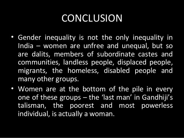 Issues Related to Gender Equality in India
