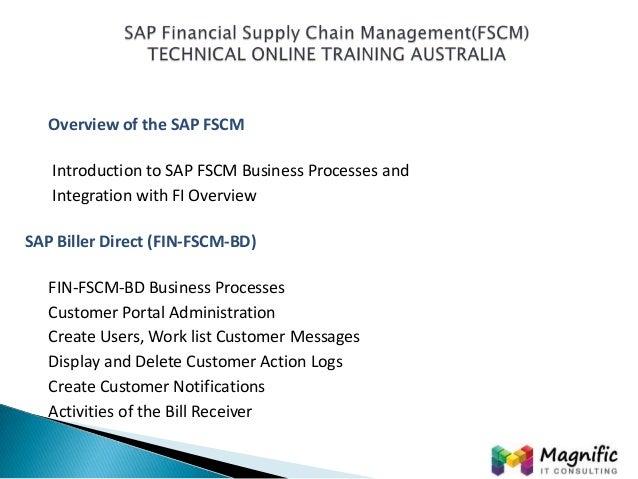sap financial supply chain management fscm technical. Black Bedroom Furniture Sets. Home Design Ideas