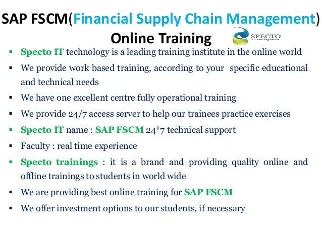 sap financial supply chain management online training. Black Bedroom Furniture Sets. Home Design Ideas
