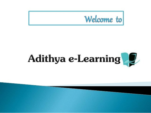 Fiori Online.Sap Fiori Online Training By Adithya E Learning