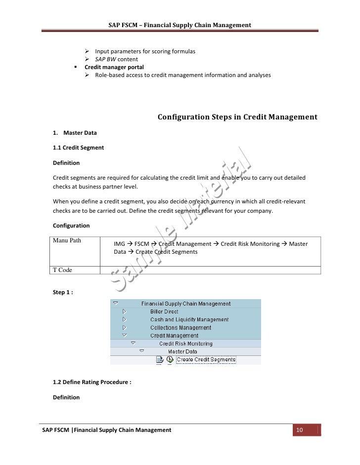 sap fscm training material rh slideshare net SAP FSCM Fscm Search