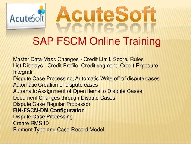 sap fscm credit management configuration guide