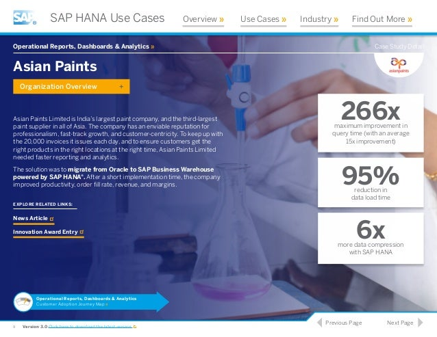 SAP Case Studies - Amazon Web Services (AWS)