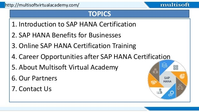hana sap certification training