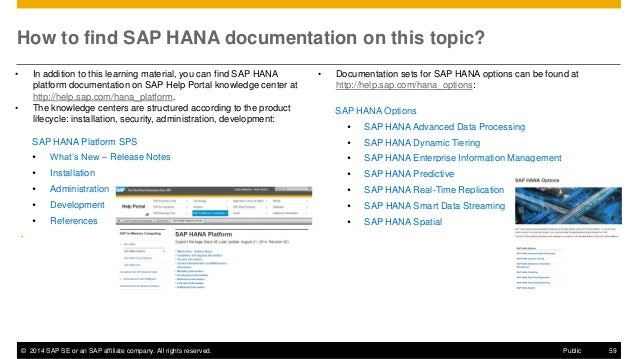 SAP HANA SPS09 - Multitenant Database Containers
