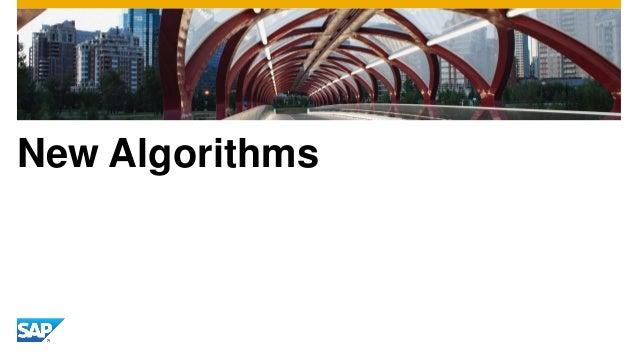 New Algorithms