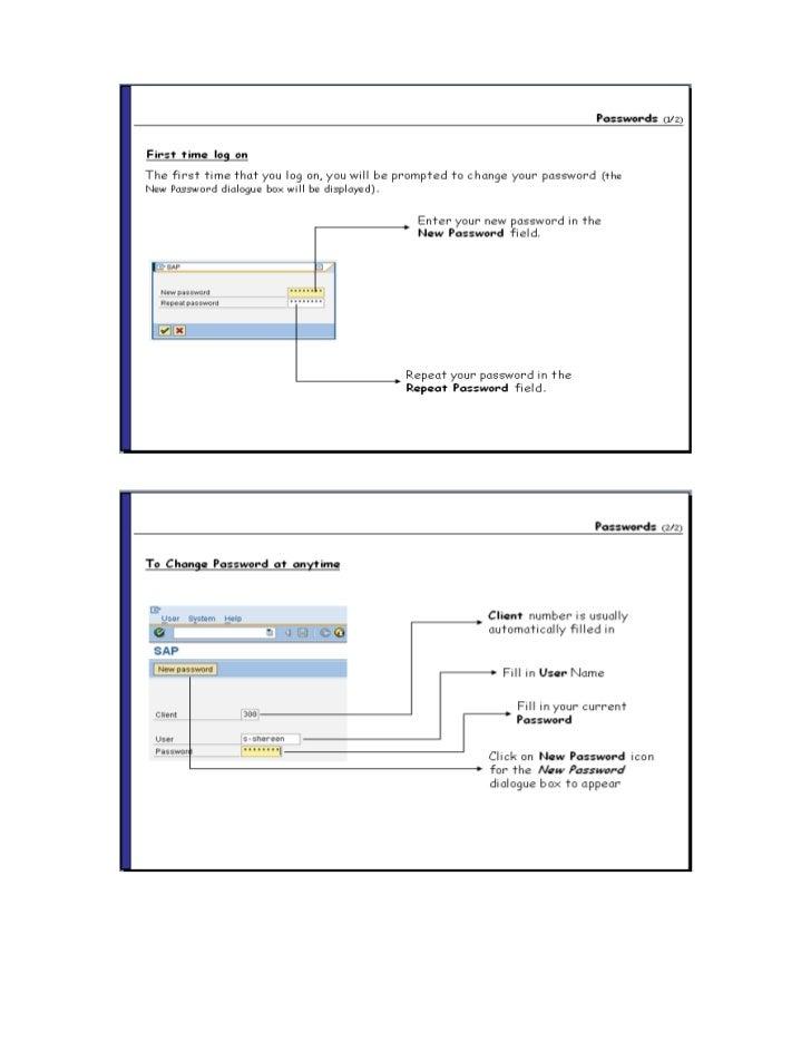 sap hr training material pdf