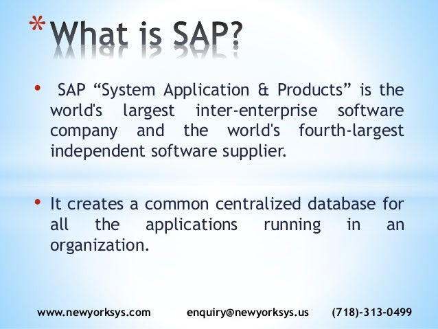 sap system application product SAP HR/HCM Online Training Materials and Videos at Newyorksys