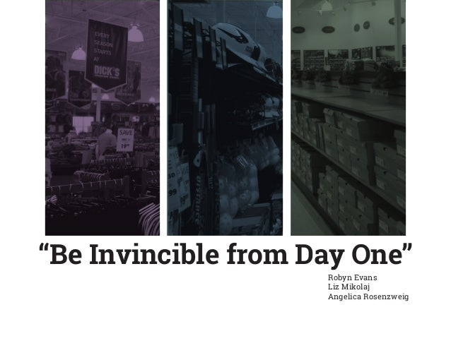"""""""Be Invincible from Day One"""" Robyn Evans Liz Mikolaj Angelica Rosenzweig"""