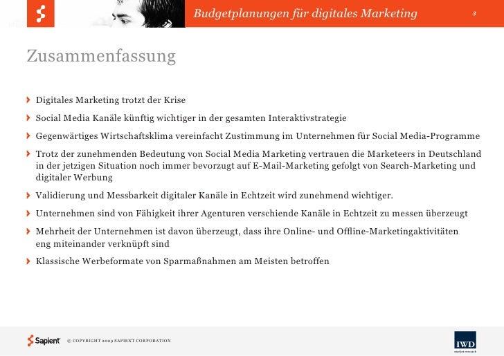 Budgetplanungen für digitales Marketing Slide 3