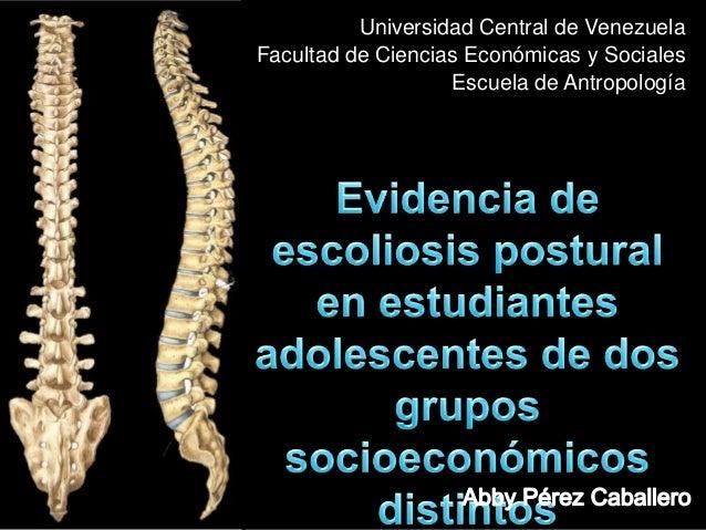 Universidad Central de VenezuelaFacultad de Ciencias Económicas y SocialesEscuela de Antropología