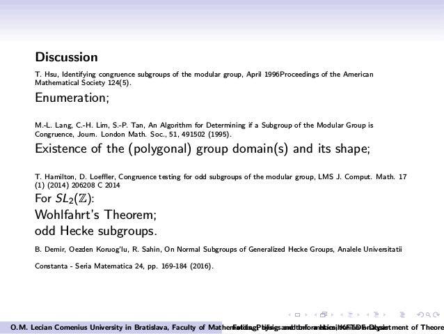 Folding, tiling and tori: a Hamiltonian analysis, O M