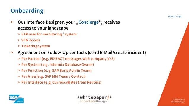 Sap interface monitoring concierge service platinumwayz