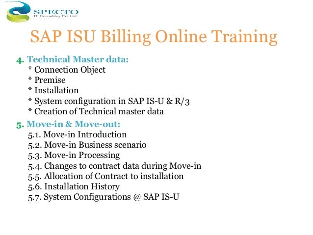 Sap isu billing invoicing and device management online
