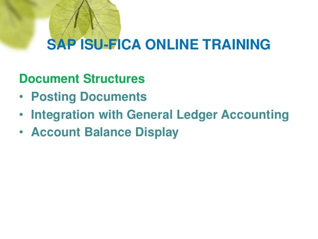 Fourth image of Sap Is U Fica Contract Account Configuration Document with Sap isu fica online training