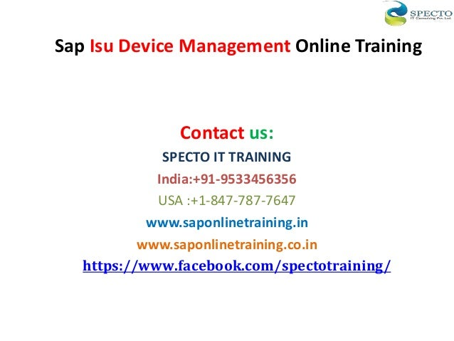 Sap Funds Management End User Training Manual