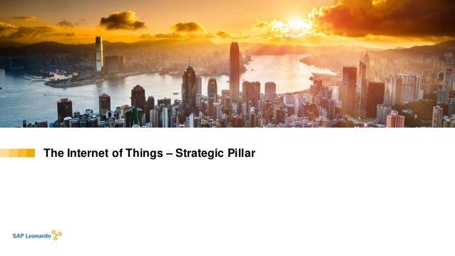The Internet of Things – Strategic Pillar