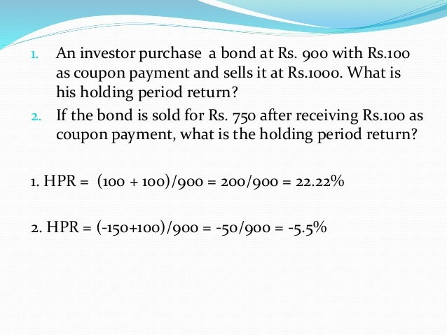 bond analysis and valuation Discounted cash flow valuation: the inputs  l the riskfree rate is the rate on a zero coupon government bond  of the true value l for short term analysis, .