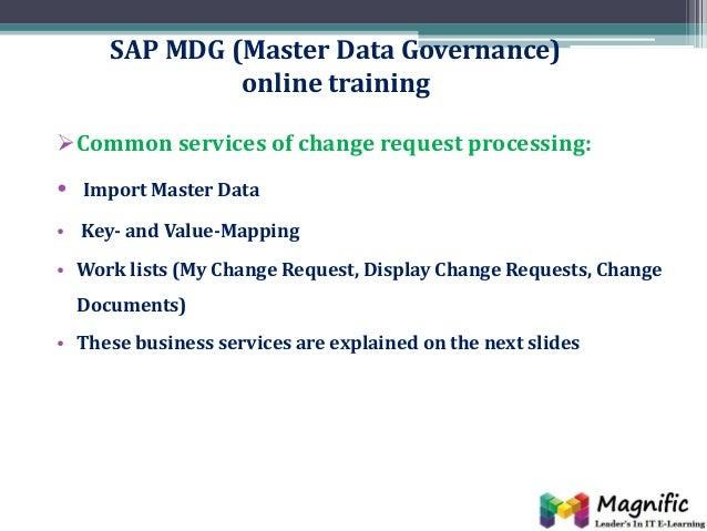 sap mdg master data governance