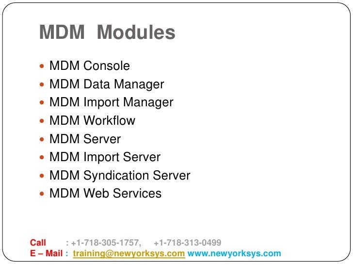 SAP MDM Online Training in USA - NEWYORK