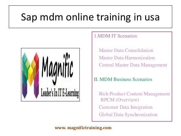 Sap mdm online training in usa,uk,australia,south africa ...