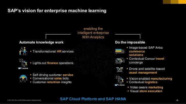 sap machine learning cash application