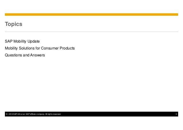 Estrategias Móviles de SAP