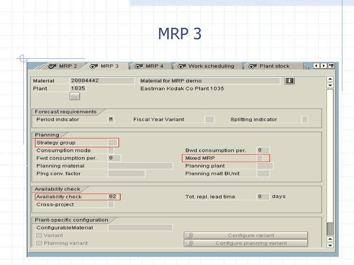 MRP 3