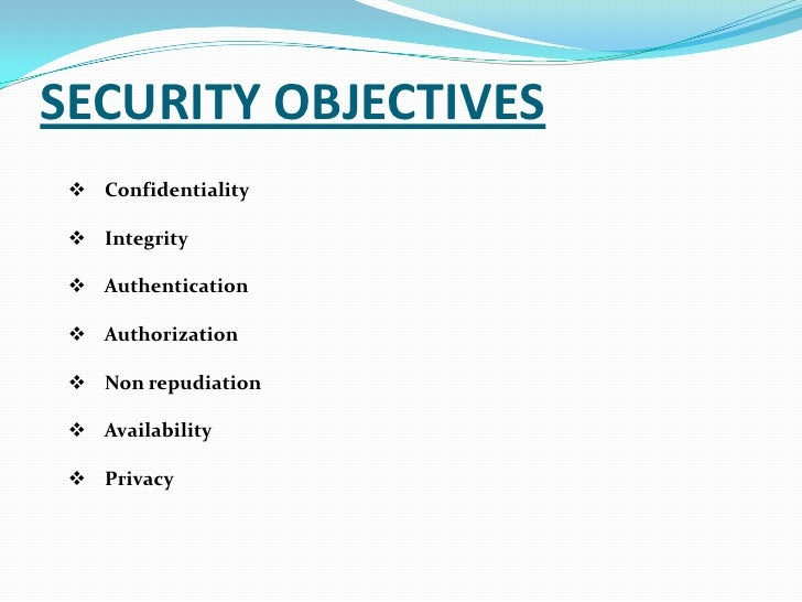 security objective Objective specialises in managed it services, providing it support, networking   it's never too late to bullet-proof data and protect the security of your business.