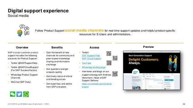 SAP Next-Generation Support
