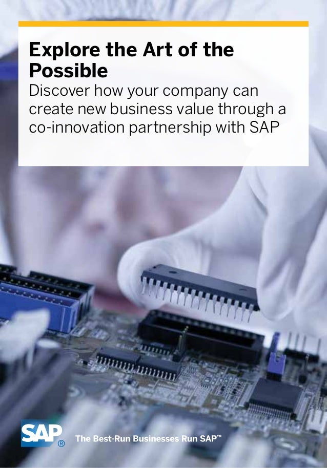 Sap oem e book for semiconductor manufacturing industries explore the art of the possible discover how your company can create new business value through innovate fandeluxe Images
