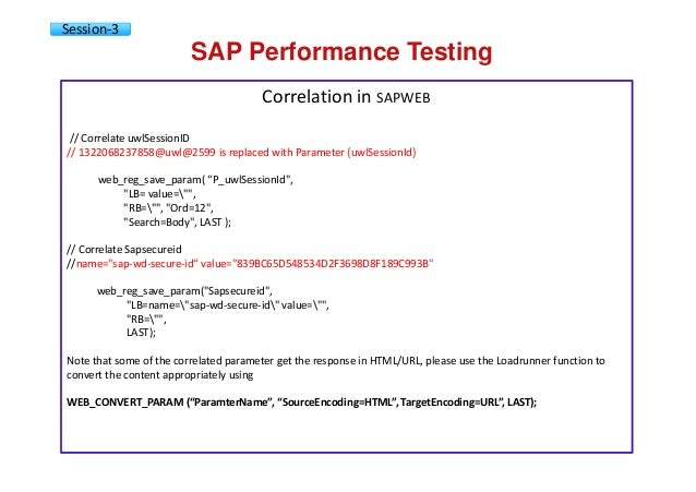 SAP performance testing & engineering courseware v01