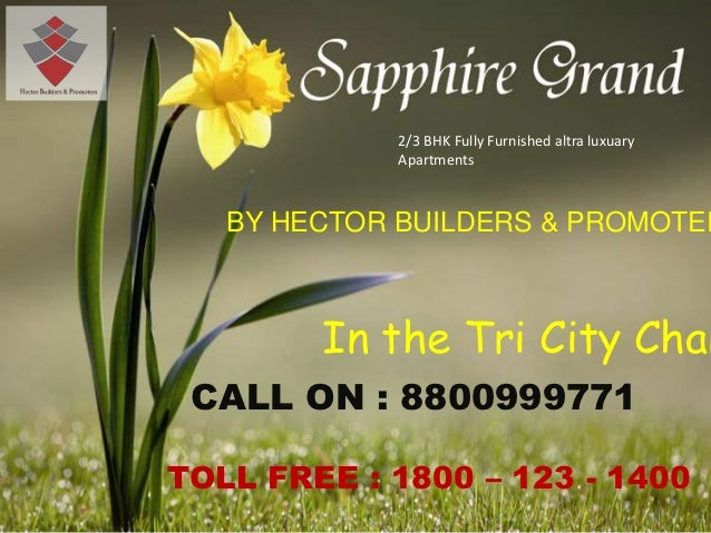 2/3 BHK Fully Furnished altra luxuary            Apartments   BY HECTOR BUILDERS & PROMOTER        In the Tri City Chan CA...