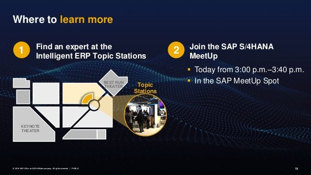 Interested in learning more about SAP S/4HANA Cloud? Free Trial of SAP S/4HANA Cloud Learn more about SAP's Cloud ERP solu...