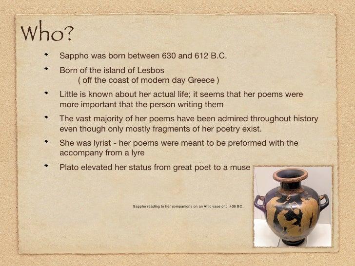 Sappho Presentation