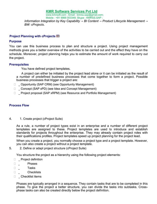 SAP PLM Online Training Complete Hand Book